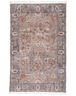 Aliza in Gray/Rust Rug