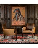 lowest priced Double Cross Grey Rug southwestern rug