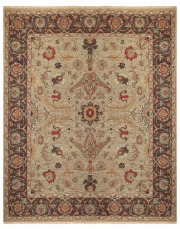 Goshen Gold/Brown Rug
