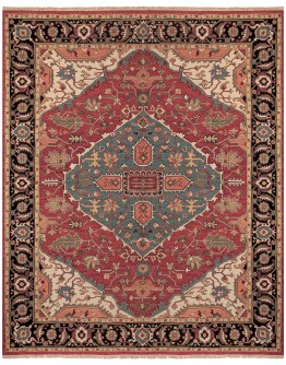 Goshen Red/Black Rug