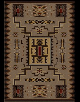 Storm Catcher Chestnut Rug