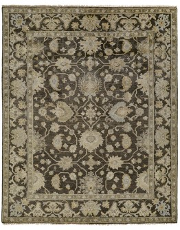 Ustad Charcoal/Multi Rug