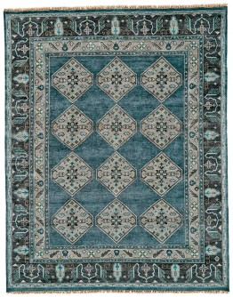 Ustad Dark Blue/Gray Rug