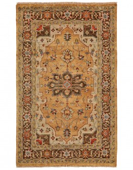 Ustad Gold/Brown Rug