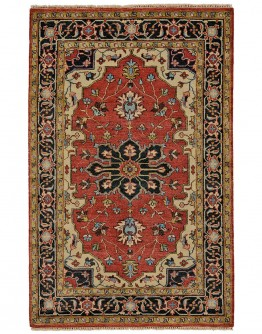 Ustad Red/Black Rug