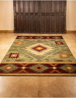 Whiskey River Sage Rug