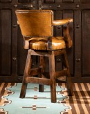 best leather swivel bar stools