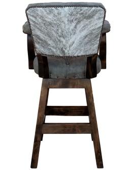 Chisum Stone Tufted Barstool