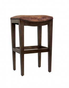 Durango Croc Saddle Stool
