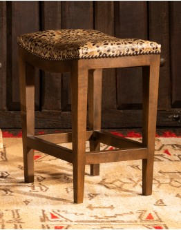 Verona Stone Saddle Stool