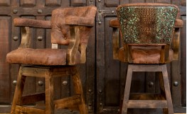 The Best Rustic Ranch Style Barstools