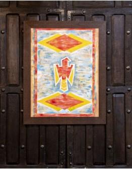 Navajo Thunderbird Framed Print