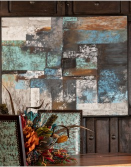 Tiles Hand Painted Canvas