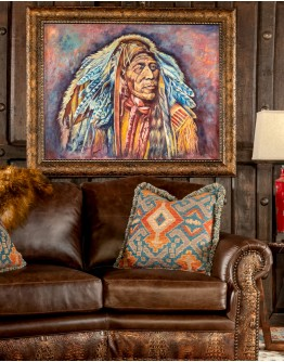 War Bonnet Framed Print