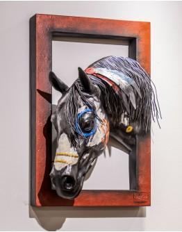 3D Apache Horse