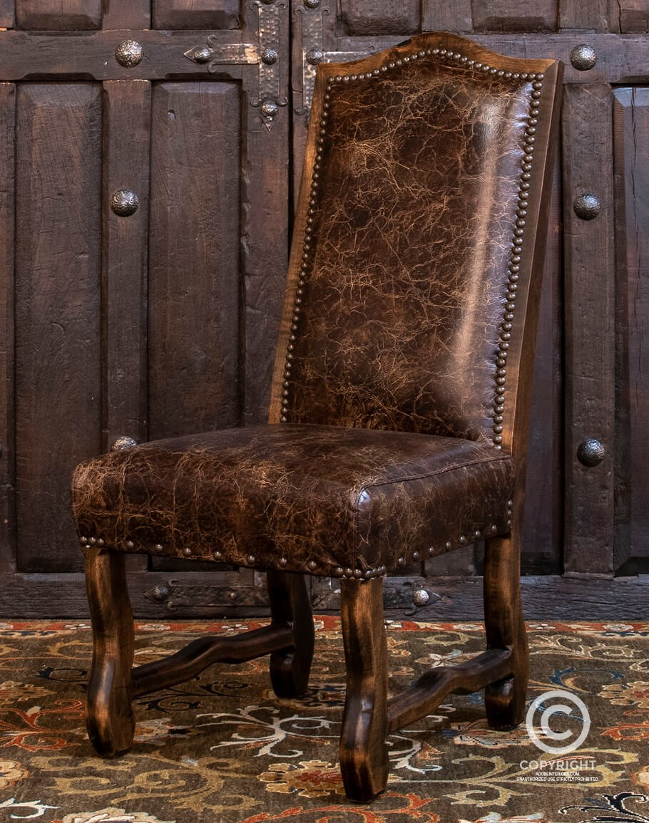 Axis Hide Dining Chair Fine Leather Furniture Store