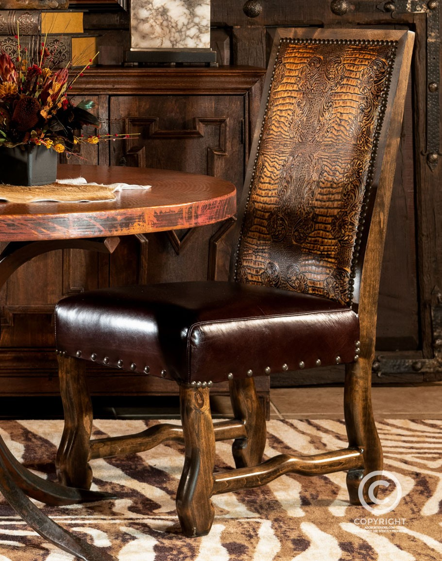 Butch Cassidy Dining Chair Fine Leather Chairs