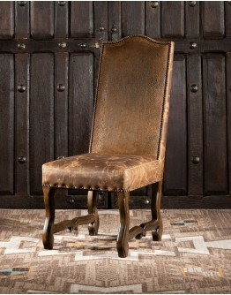 King Ranch Leather Dining Chair