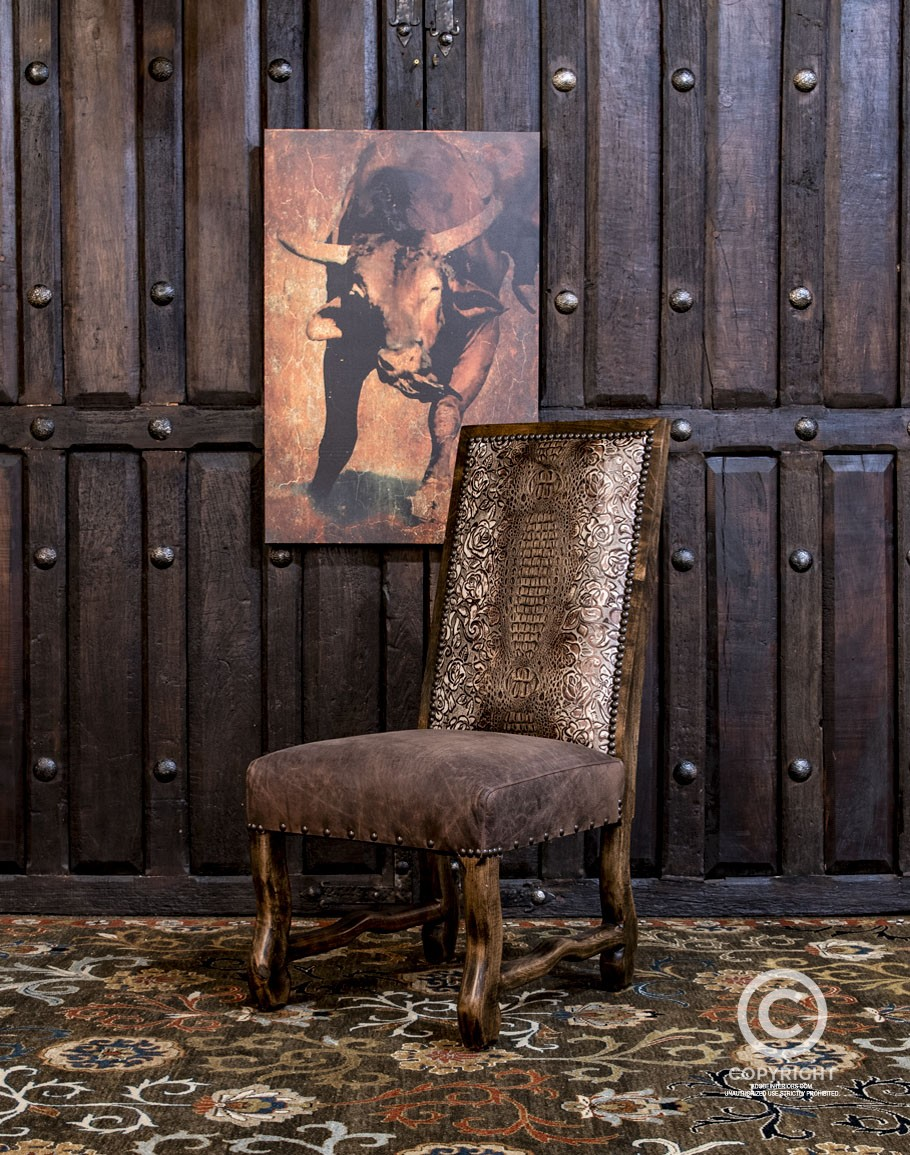 Rigsby Dining Chair Western Chic, Western Dining Room Furniture