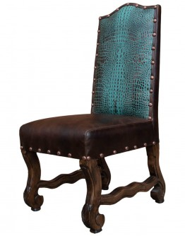 Saloon Croc Dining Chair