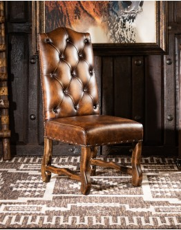 Sedona Croc Leather Dining Chair