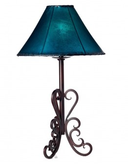Nogales Forged Iron Lamp