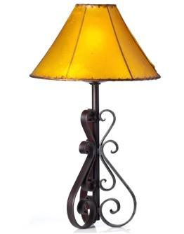 Nuevo Forged Iron Lamp