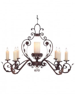 7 Light Crown Chandelier