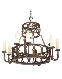 8 Light Apron Chandelier