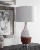 western chic table lamps