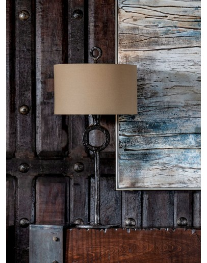 modern rustic style iron table lamp