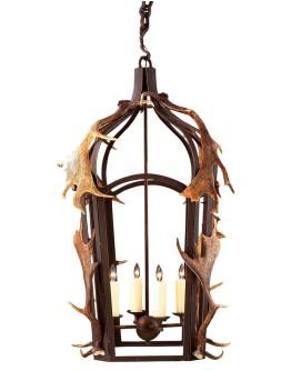 Band Lantern w/Antlers