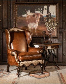 Canyon Sauvage Wingback Chair