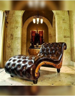 Chisum Tufted Chaise