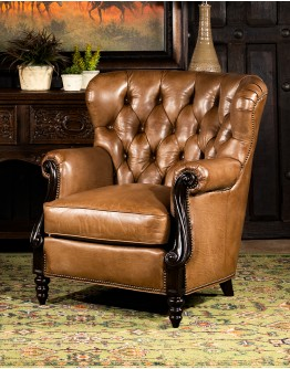 Dorchester Tufted Leather Chair