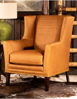 Rodeo Ranch Leather Chair