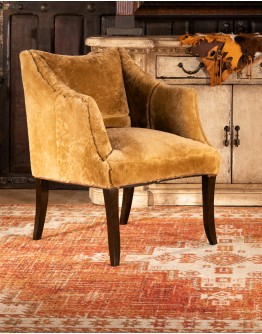 Champagne Shearling Chair