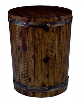 Barrel Accent Table