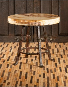 Rustica Onyx End Table