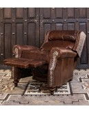 high end western style recliner