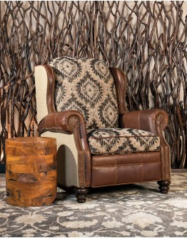 Brown Stone Recliner