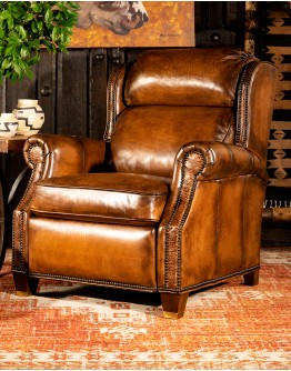 Cattlemens Leather Recliner