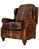 high quality ranch style leather recliners