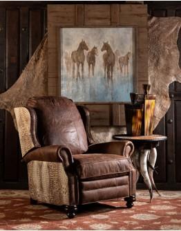 Cowboy Ivory Recliner