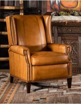 Dalhart Saddle Leather Recliner