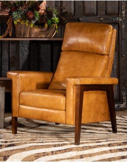 Slayden Saddleback Leather Recliner