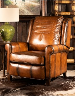 King Ranch Leather Recliner