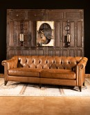 high quality leather chesterfield sofa, remington tanner furniture,chesterfield sofa with saddle leather