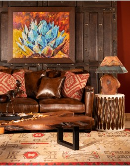 Branson Leather Sectional Sofa