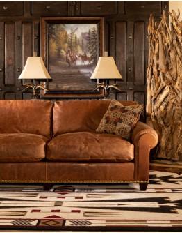 Cattleman Leather Sofa